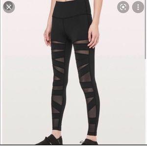 Lululemon High Times Mesh 7/8 leggings